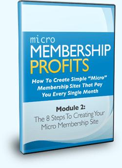 Micro Membership Profits Module 2