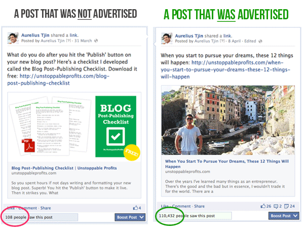 Facebook Ads - Before After