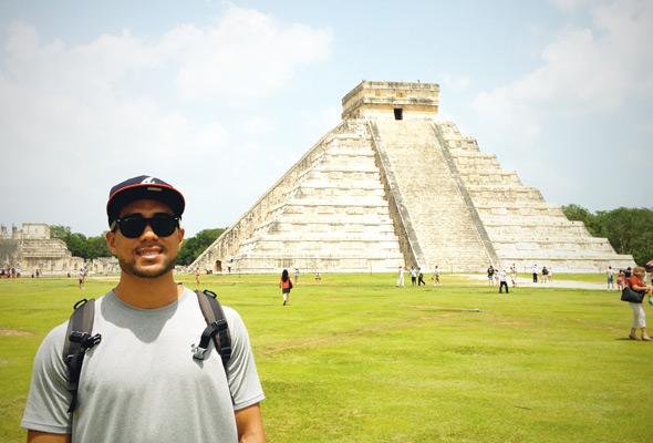 The El Castillo in Chichen Itza, Mexico