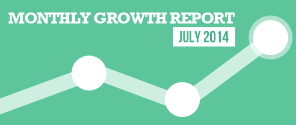 Monthly Growth Report July 2014