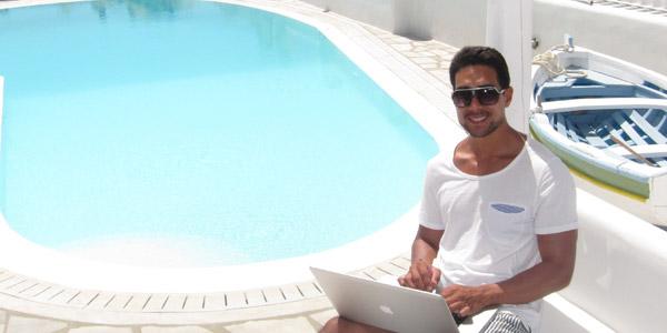 Starting a blog with Aurelius Tjin
