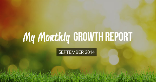 monthly growth report september 2014